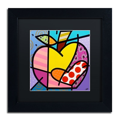 Trademark Fine Art Roberto Rafael Big Apple IV 11 x 11 Matted Framed (190836279364)