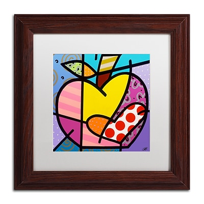 Trademark Fine Art Roberto Rafael Big Apple IV 11 x 11 Matted Framed (190836279524)