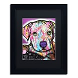 Trademark Fine Art Dean Russo Baby Pit 11 x 14 Matted Framed (190836156788)