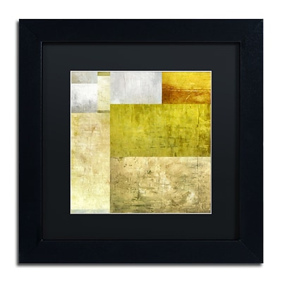 Trademark Fine Art Michelle Calkins Neutral Study 1.0 11 x 11 Matted Framed (190836074341)
