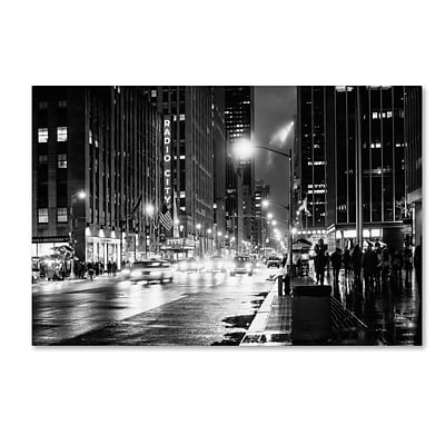 Trademark Fine Art Philippe Hugonnard Night in Manhattan 12 x 19 Canvas Stretched (190836053759)