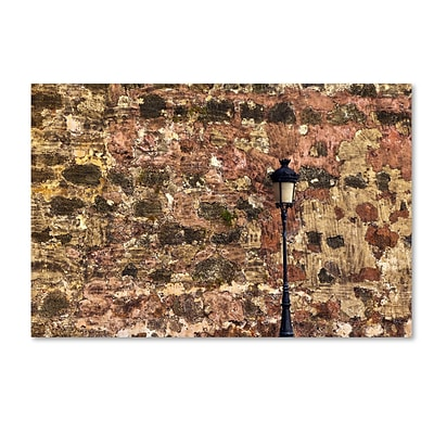 Trademark Fine Art CATeyes Castillo de San Felipe del Morro 15 12 x 19 Canvas Stretched (190836036257)