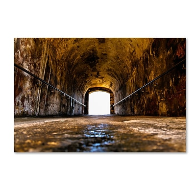 Trademark Fine Art CATeyes Castillo de San Felipe del Morro 13 12 x 19 Canvas Stretched (190836035892)