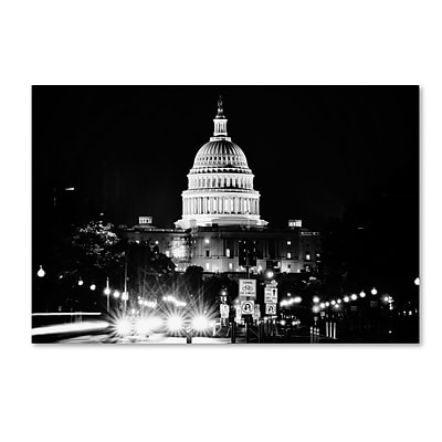 Trademark Fine Art Philippe Hugonnard United States Capitol 12 x 19 Canvas Stretched (190836120802)