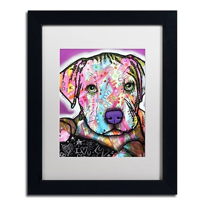 Trademark Fine Art Dean Russo Baby Pit 11 x 14 Matted Framed (190836156795)