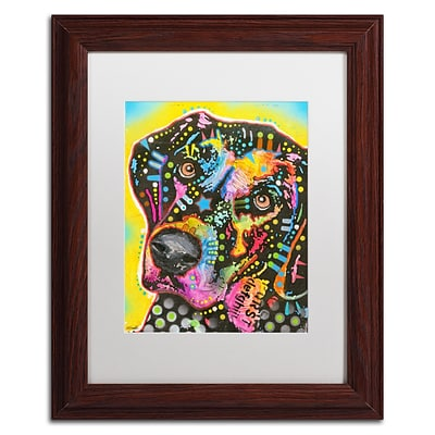 Trademark Fine Art Dean Russo 05 11 x 14 Matted Framed (190836141456)