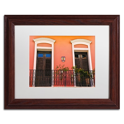 Trademark Fine Art CATeyes Old San Juan 15 11 x 14 Matted Framed (190836040513)