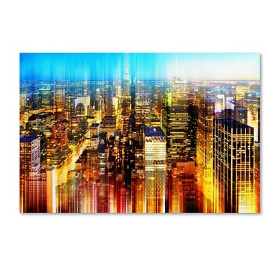 Trademark Fine Art Philippe Hugonnard Urban Stretch NYC X 12 x 19 Canvas Stretched (190836046195)