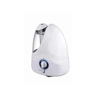 Optimus Cool Mist Ultrasonic Humidifier, 1.5 Gal., White (31002)