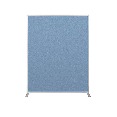 Essentials 60H x 48W Tackable Panel, Blue (66216-87)