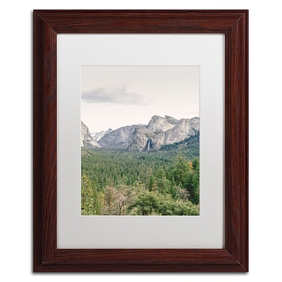 Trademark Fine Art Ariane Moshayedi Yosemite Valley 2 11 x 14 Matted Framed (190836277261)