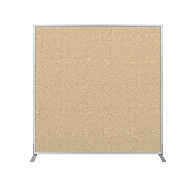 Essentials 60H x 60W Tackable Panel, Nutmeg (66217-89)