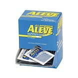 Aleve 220mg Naproxen Caplets, 1/Packet, 50 Packets/Box (7534-50X12-SBA)