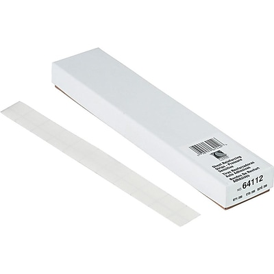 C-Line Peel & Stick Self-Adhesive Reinforcing Strips, Clear, 200/Box (64112)