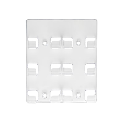 Deflect-O Wall Mounted Card Holders, Clear (70601)