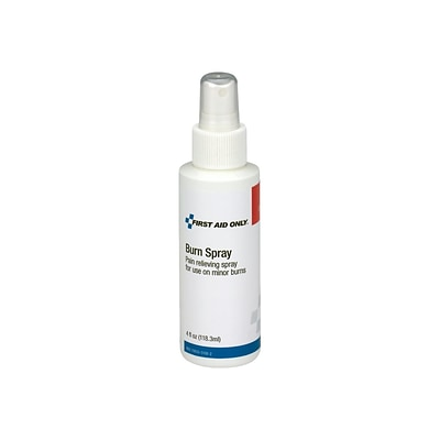 First Aid Only 2% Lidocaine HCL Antiseptic Burn Spray, 4 Fl. oz. (13-040)