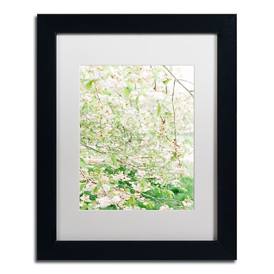 Trademark Fine Art Ariane Moshayedi White Cherry Blossom Trees 4 11 x 14 Matted Framed (190836276448)