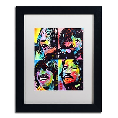 Trademark Fine Art Dean Russo Beatles 11 x 14 Matted Framed (190836166091)