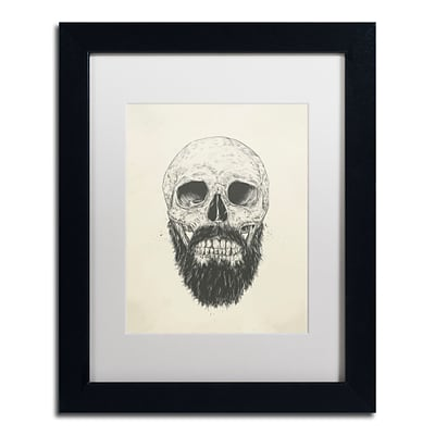 Trademark Fine Art Balazs Solti The Beard Is Not Dead 11 x 14 Matted Framed (190836178605)