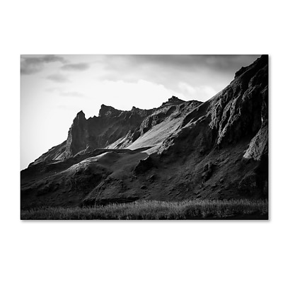 Trademark Fine Art Philippe Sainte-Laudy Torn Mountains 12 x 19 Canvas Stretched (190836330904)