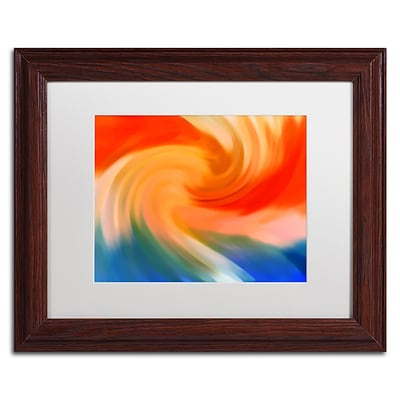 Trademark Fine Art Amy Vangsgard Storm At Sea 1 11 x 14 Matted Framed (886511937710)