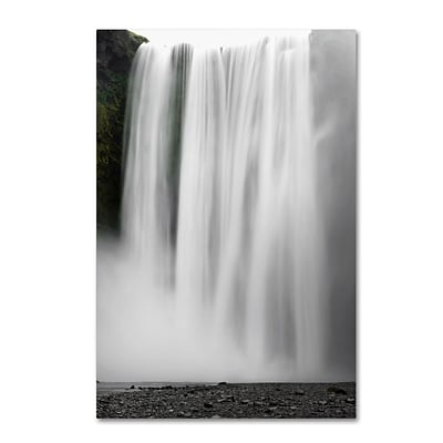 Trademark Fine Art Philippe Sainte-Laudy The Skogafoss Curtain 12 x 19 Canvas Stretched (190836329649)