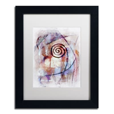 Trademark Fine Art Adam Kadmos Freeform 11 x 14 Matted Framed (190836065578)