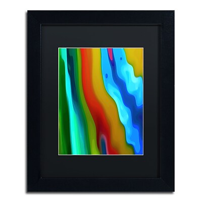 Trademark Fine Art Amy Vangsgard River Runs Through Vertical 2 11 x 14 Matted Framed (886511936652)