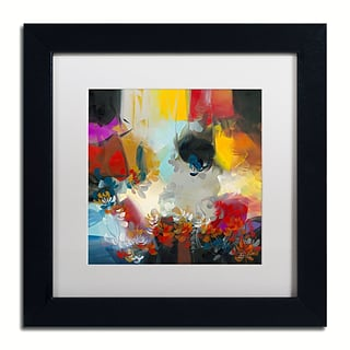Trademark Fine Art Andrea Spectrum 11 x 11 Matted Framed (190836010912)
