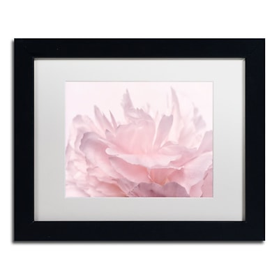 Trademark Fine Art Cora Niele Pink Peony Petals III 11 x 14 Matted Framed (190836307548)