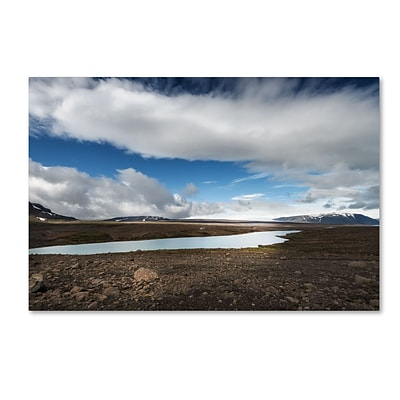 Trademark Fine Art Philippe Sainte-Laudy Icelandic Silence 12 x 19 Canvas Stretched (190836301706)
