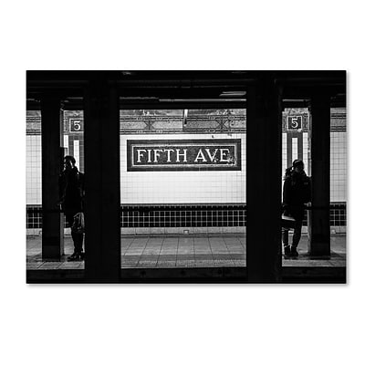 Trademark Fine Art Philippe Hugonnard Fifth Ave 12 x 19 Canvas Stretched (190836050697)