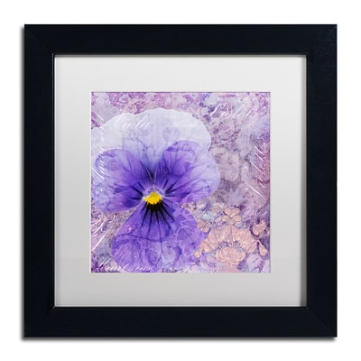 Trademark Fine Art Cora Niele Viola - Secret Love 11 x 11 Matted Framed (190836312726)