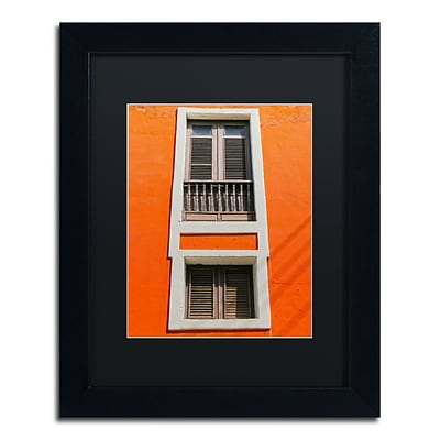 Trademark Fine Art CATeyes Old San Juan 6 11 x 14 Matted Framed (190836038732)
