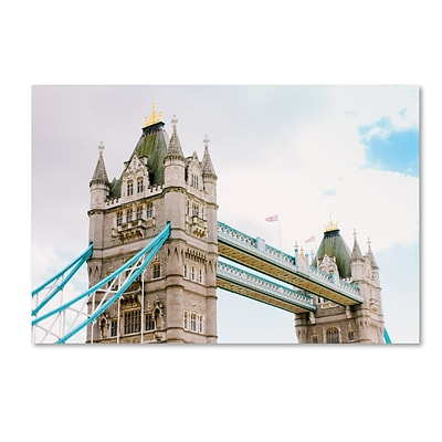 Trademark Fine Art Ariane Moshayedi London Tower Bridge 12 x 19 Canvas Stretched (190836270026)
