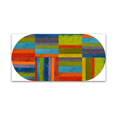 Trademark Fine Art Michelle Calkins Big Pill  10 x 19 Canvas Stretched (886511966543)