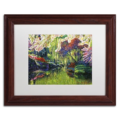 Trademark Fine Art David Lloyd Glover Spring Concerto 11 x 14 Matted Framed (190836227068)