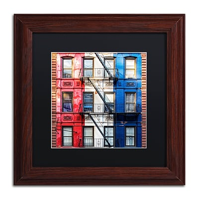 Trademark Fine Art Philippe Hugonnard American Colors 11 x 11 Matted Framed (190836121120)