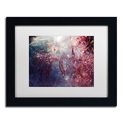 Trademark Fine Art Beata Czyzowska Young Adventures of Red 11 x 14 Matted Framed (190836182220)