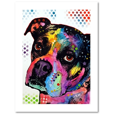 Trademark Fine Art Dean Russo Young Boxer 18 x 24 Paper Rolled (190836171170)
