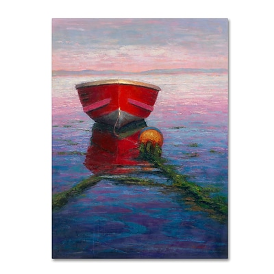 Trademark Fine Art Daniel Moises Tranquilty 14 x 19 Canvas Stretched (190836278268)