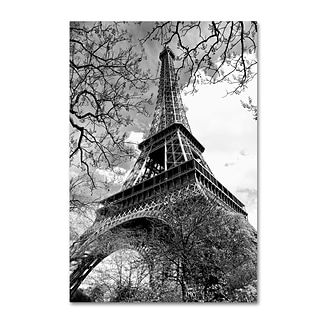 Trademark Fine Art Philippe Hugonnard Eiffel Tower 2 12 x 19 Canvas Stretched (190836113866)