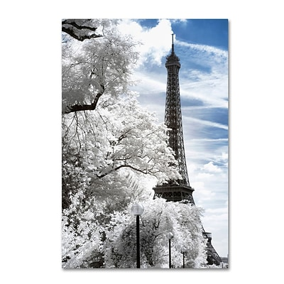 Trademark Fine Art Philippe Hugonnard Another Look at Paris I 12 x 19 Canvas Stretched (190836041114)