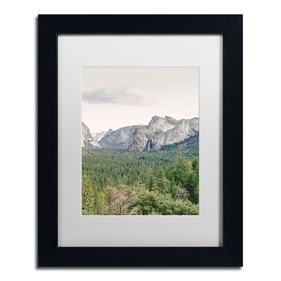 Trademark Fine Art Ariane Moshayedi Yosemite Valley 2 11 x 14 Matted Framed (190836277148)