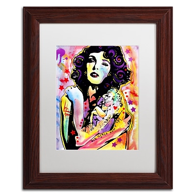 Trademark Fine Art Dean Russo Big Girls Dont Cry 11 x 14 Matted Framed (190836166503)