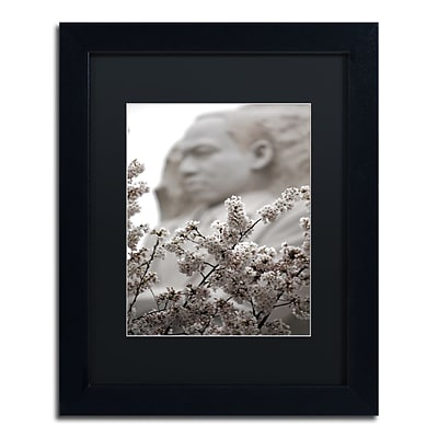 Trademark Fine Art CATeyes MLK Blossoms 11 x 14 Matted Framed (190836098828)