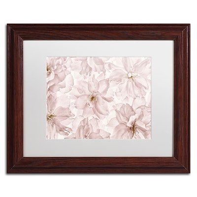 Trademark Fine Art Cora Niele Translucent Cherry Blossom 11 x 14 Matted Framed (190836310326)