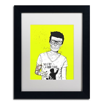 Trademark Fine Art Balazs Solti Hipsters Not Dead Color 11 x 14 Matted Framed (190836181063)