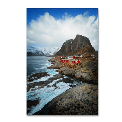 Trademark Fine Art Philippe Sainte-Laudy Hamnoy 12 x 19 Canvas Stretched (190836220823)