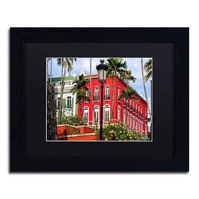 Trademark Fine Art CATeyes Old San Juan 1 11 x 14 Matted Framed (190836038015)